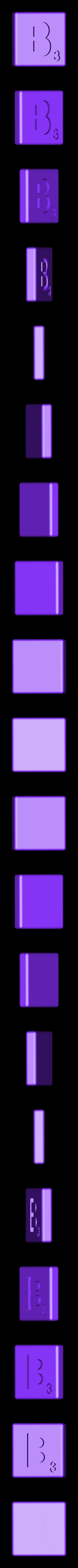 Dual_Shell_B.STL Télécharger fichier STL gratuit Pièces et support SCRABBBLE • Design pour imprimante 3D, Balkhagal4D