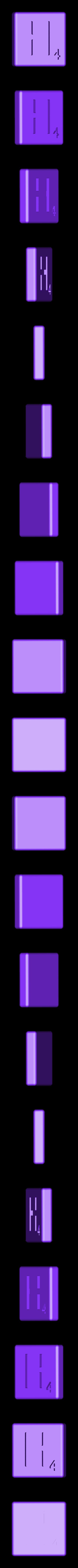 Dual_Shell_H.STL Télécharger fichier STL gratuit Pièces et support SCRABBBLE • Design pour imprimante 3D, Balkhagal4D