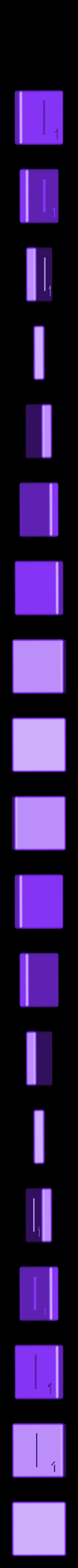 Dual_Shell_I.STL Télécharger fichier STL gratuit Pièces et support SCRABBBLE • Design pour imprimante 3D, Balkhagal4D