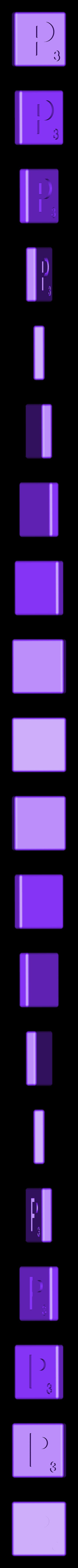 Dual_Shell_P.STL Télécharger fichier STL gratuit Pièces et support SCRABBBLE • Design pour imprimante 3D, Balkhagal4D