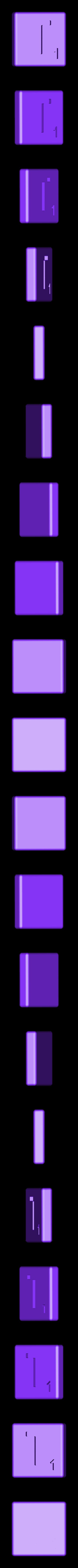 Dual_Shell_T.STL Télécharger fichier STL gratuit Pièces et support SCRABBBLE • Design pour imprimante 3D, Balkhagal4D