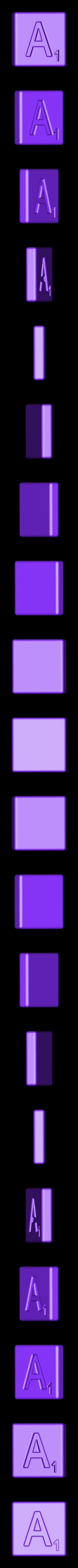 Single_Cut_A.STL Télécharger fichier STL gratuit Pièces et support SCRABBBLE • Design pour imprimante 3D, Balkhagal4D