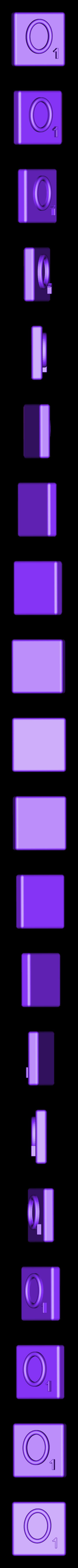 Single_Extruded_O.STL Télécharger fichier STL gratuit Pièces et support SCRABBBLE • Design pour imprimante 3D, Balkhagal4D