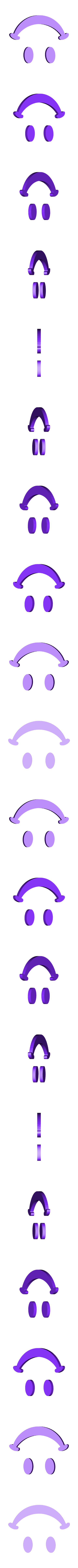 Smiley_Logo.STL Download free STL file SMILEY FACE Golf Ball Marker • 3D printing design, Balkhagal4D
