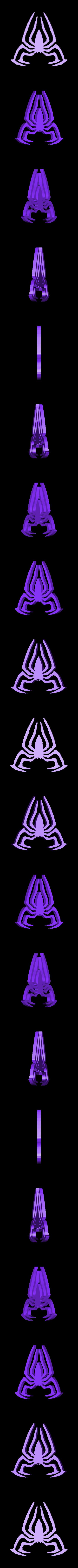 Spiderman_Logo.STL Télécharger fichier STL gratuit Marqueur de balle de golf SPIDERMAN • Objet à imprimer en 3D, Balkhagal4D