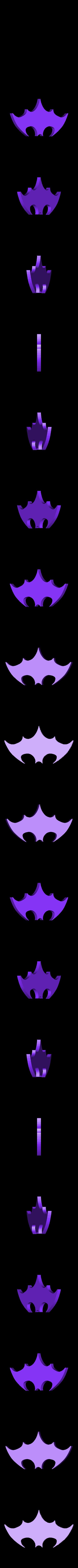 Batman_Logo.STL Télécharger fichier STL gratuit Marqueur de balle BATMAN • Objet imprimable en 3D, Balkhagal4D