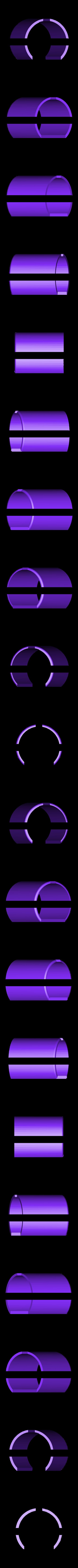 DualBottomOuter.STL Download free STL file LIGHTSABER - LED - Fully Functional • 3D printer template, Balkhagal4D