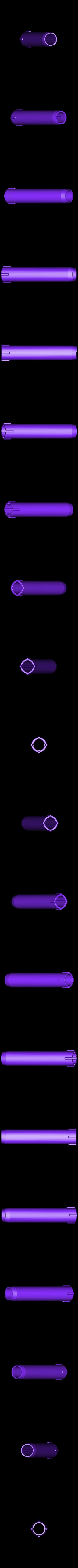 4th_Cylinder.STL Download free STL file LIGHTSABER - LED - Fully Functional • 3D printer template, Balkhagal4D