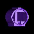 DualBottomInner.STL Download free STL file LIGHTSABER - LED - Fully Functional • 3D printer template, Balkhagal4D