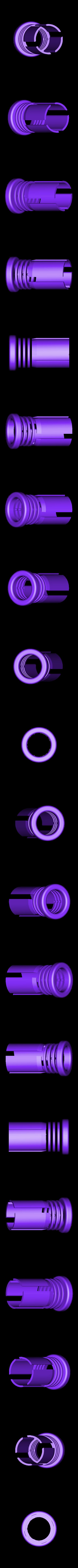 DualHandleOuter.STL Download free STL file LIGHTSABER - LED - Fully Functional • 3D printer template, Balkhagal4D