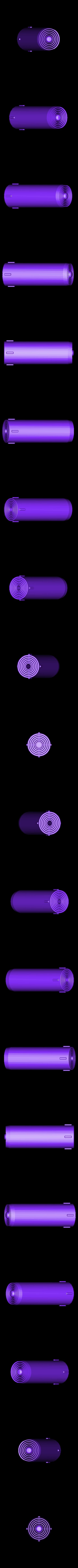 Cylinders_AllTogether.STL Download free STL file LIGHTSABER - LED - Fully Functional • 3D printer template, Balkhagal4D