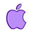 Apple_logo.STL Télécharger fichier STL gratuit Lampe de nuit / Lampe de nuit à DEL avec logo Apple • Plan pour imprimante 3D, Balkhagal4D