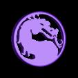 MortalCombat.STL Télécharger fichier STL gratuit Lumière LED Mortal Kombat Light/NightLight • Design pour impression 3D, Balkhagal4D