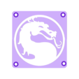 MortalCombat_Plate.STL Télécharger fichier STL gratuit Lumière LED Mortal Kombat Light/NightLight • Design pour impression 3D, Balkhagal4D