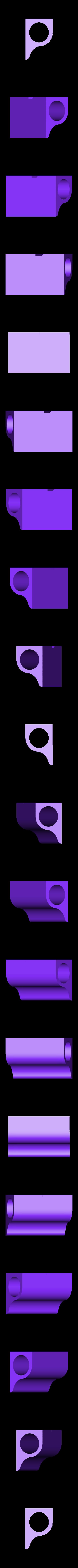BarHolderLeft.stl Télécharger fichier STL gratuit Supports de support de rallonge de tube • Objet pour impression 3D, Balkhagal4D