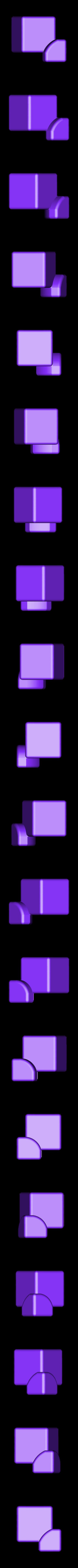 CubeCornerRedesigned.stl Télécharger fichier STL gratuit CUBE! Fully Functional... EASY PRINT... 3x3x3 cube • Plan imprimable en 3D, Balkhagal4D