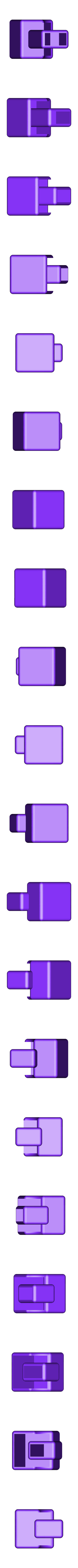 CubeMiddlePiece.stl Télécharger fichier STL gratuit CUBE! Fully Functional... EASY PRINT... 3x3x3 cube • Plan imprimable en 3D, Balkhagal4D