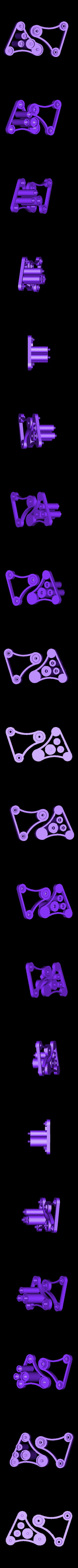 PLA_Spool_Holder.stl Télécharger fichier STL gratuit Porte-bobine universel - Ancienne version • Design à imprimer en 3D, Balkhagal4D