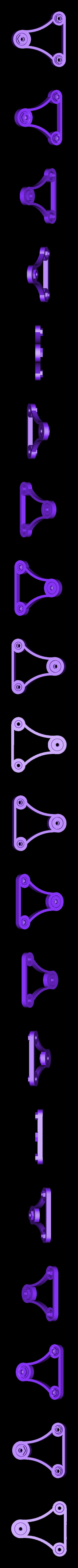 SpinnerArmBigTop.stl Télécharger fichier STL gratuit Porte-bobine universel - Ancienne version • Design à imprimer en 3D, Balkhagal4D