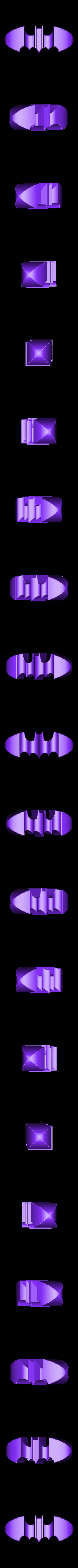 batman.stl Download free STL file Batman Logo in 3D • 3D printer design, Balkhagal4D