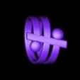 f_ring.stl Download free STL file Friendship Ring • 3D printable design, Pudedrik