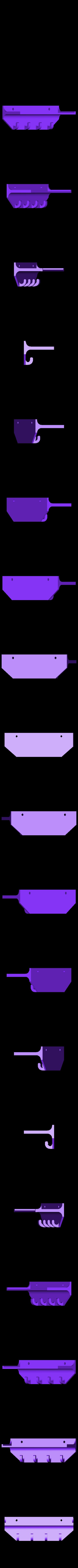 small_key_holder.STL Télécharger fichier STL gratuit Porte-clés avec étagère • Objet imprimable en 3D, Pudedrik