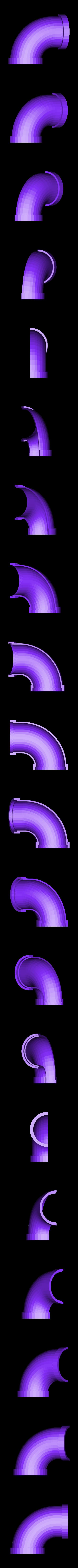 invelox_corner_section_lower_fixed.stl Download free STL file invelox • 3D printable template, Pudedrik