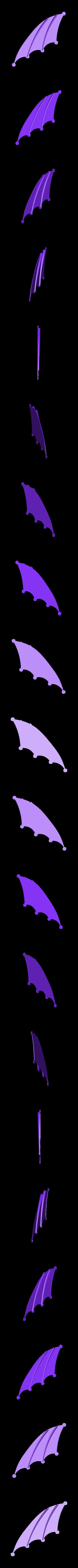 Left_wing_2.stl Télécharger fichier STL gratuit Le cerf-volant de DaVinci • Plan pour imprimante 3D, Beardoric