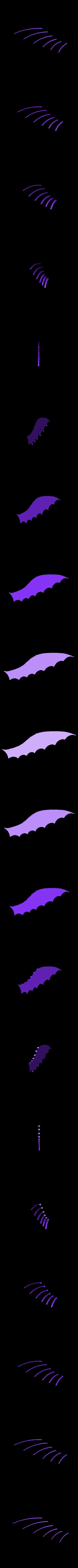 Left_wing_big.stl Télécharger fichier STL gratuit Le cerf-volant de DaVinci • Plan pour imprimante 3D, Beardoric