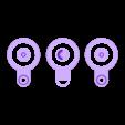 Glider_main_body.stl Télécharger fichier STL gratuit Finger Flapper • Design pour imprimante 3D, Beardoric