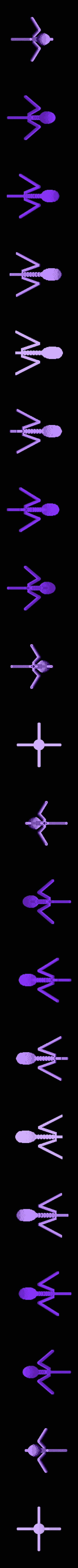 bacteriophage2.stl Télécharger fichier STL gratuit Bactériophage • Design pour imprimante 3D, Balkhubal
