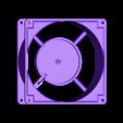 FanBody.STL Télécharger fichier STL Corps et pales du ventilateur • Modèle pour imprimante 3D, KingCAD