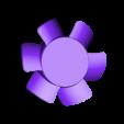 Blades.STL Télécharger fichier STL Corps et pales du ventilateur • Modèle pour imprimante 3D, KingCAD