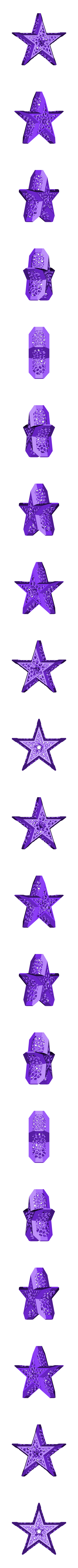 Star_Voronoi_Frame.STL Download free STL file Framed Voronoi Star • 3D printable template, inProgressDesigns