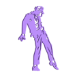8.Michel jackson.stl Download STL file Optical Illusion  2D III • 3D printable design, UnpredictableLab