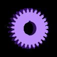 engranaje 27 dientes.STL Download free STL file Gear 27 teeth • 3D print template, jru