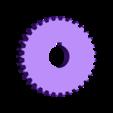 engranaje 33 dientes.STL Download free STL file Gear 33 teeth • 3D printing design, jru