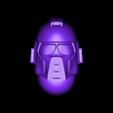 random_head.stl Download free STL file prototype guard 28mm • 3D printable template, BREXIT