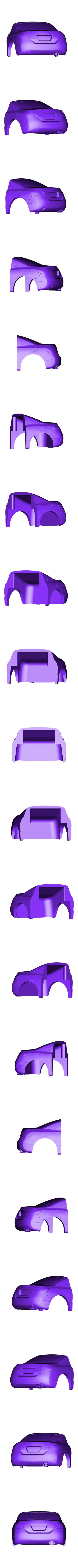 Back_Civic_2_1_28_3_v22.stl Download free STL file Honda Civic 2007 coupe body for OpenZ v16c chassis • 3D print model, guaro3d