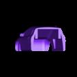Front_Civic_2_1_28_3_v22.stl Télécharger fichier STL gratuit Honda Civic 2007 carrosserie de coupé pour châssis OpenZ v16c • Modèle à imprimer en 3D, guaro3d