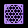 MK3_Hotend_Fan_Cover.stl Download free STL file Prusa i3 MK3 Hotend Fan Cover/Grille (for black fan without rubber corners) • 3D printer design, Mr_Tantrum