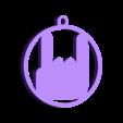 Rock Key Chain.stl Télécharger fichier STL gratuit Porte-clés rock • Design pour impression 3D, 3D-Drucker