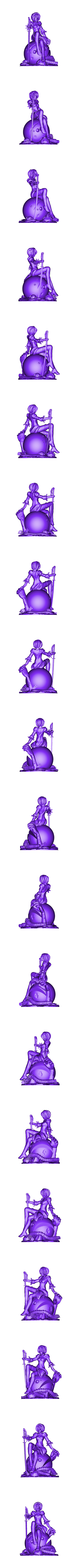 Nier_Automata_full.stl Download free STL file Nier Automata • 3D printable object, MadcapMiniatures