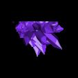mayan_god_pt1.stl Download free STL file Mayan jaguar god • Template to 3D print, durge990