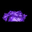 mayan_god_pt2.stl Download free STL file Mayan jaguar god • Template to 3D print, durge990