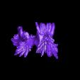 mayan_god_pt4.stl Download free STL file Mayan jaguar god • Template to 3D print, durge990