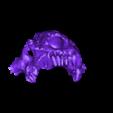 mayan_god_pt3.stl Download free STL file Mayan jaguar god • Template to 3D print, durge990