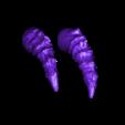 sabers_spiky.stl Download free STL file Mayan jaguar god • Template to 3D print, durge990