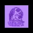 Triumph Logo.stl Télécharger fichier STL gratuit Triumph Werke Nürnberg Logo (Triomphe allemand) • Objet pour impression 3D, SCI