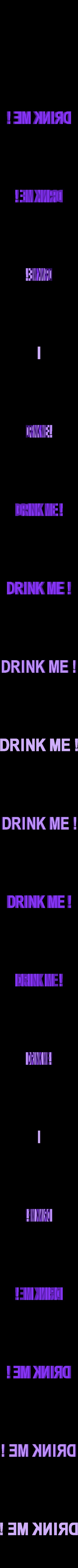 drink_text.stl Download free STL file Alice • 3D printable object, reddadsteve
